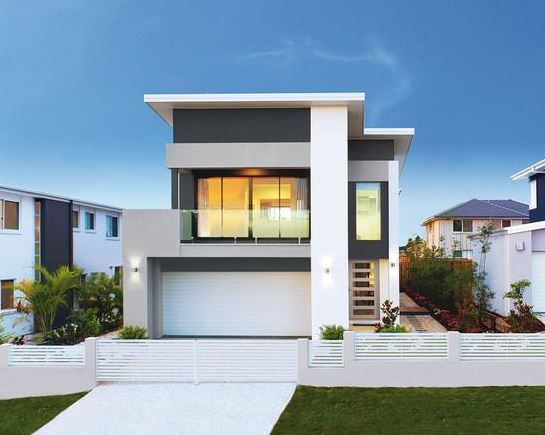 Fachadas de casas con cochera doble for Fachadas de garajes