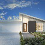 3 Fachadas de casas modernas con techo de chapa