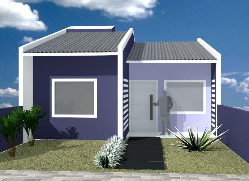 Fachadas economicas for Fachadas de casas bonitas y economicas