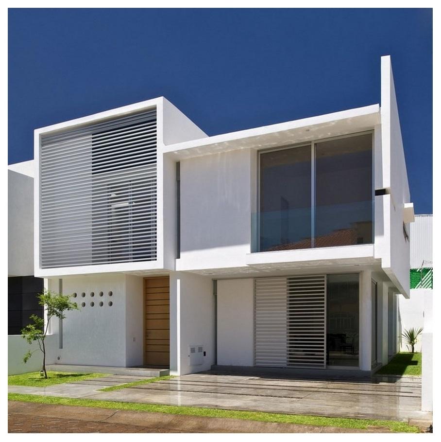 5 fachadas de casas modernas for Fachadas de viviendas modernas