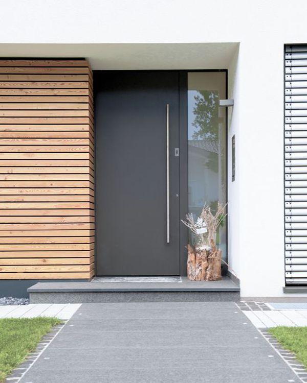 25 fotos puertas modernas para casas for Modelos de puertas principales