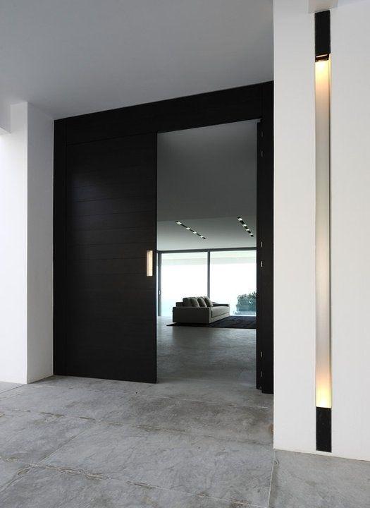 25 fotos puertas modernas para casas for Puertas para fachadas