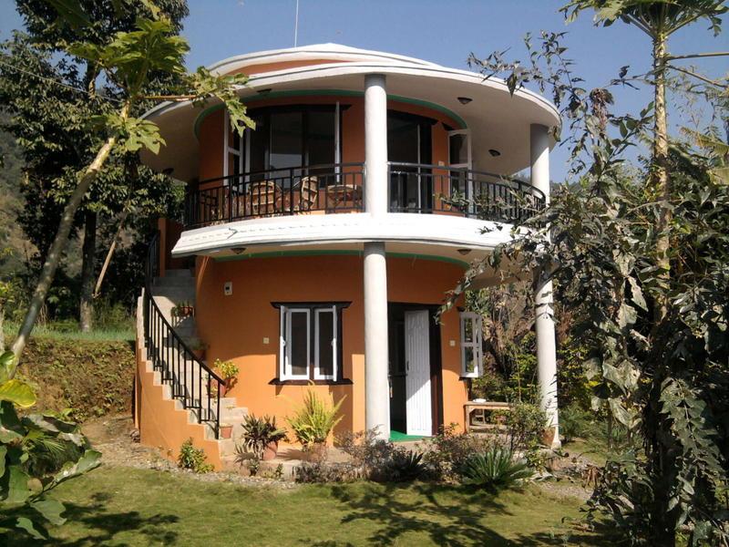 22 fachadas de casas circulares for Techos redondos fotos