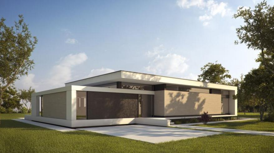 Fachadas minimalistas - Fachadas de casas de una planta ...