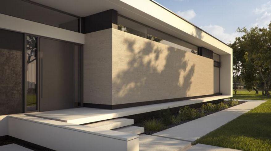 Fachadas de piedra modernas gallery of fachadas de casas for Piedras para fachadas minimalistas