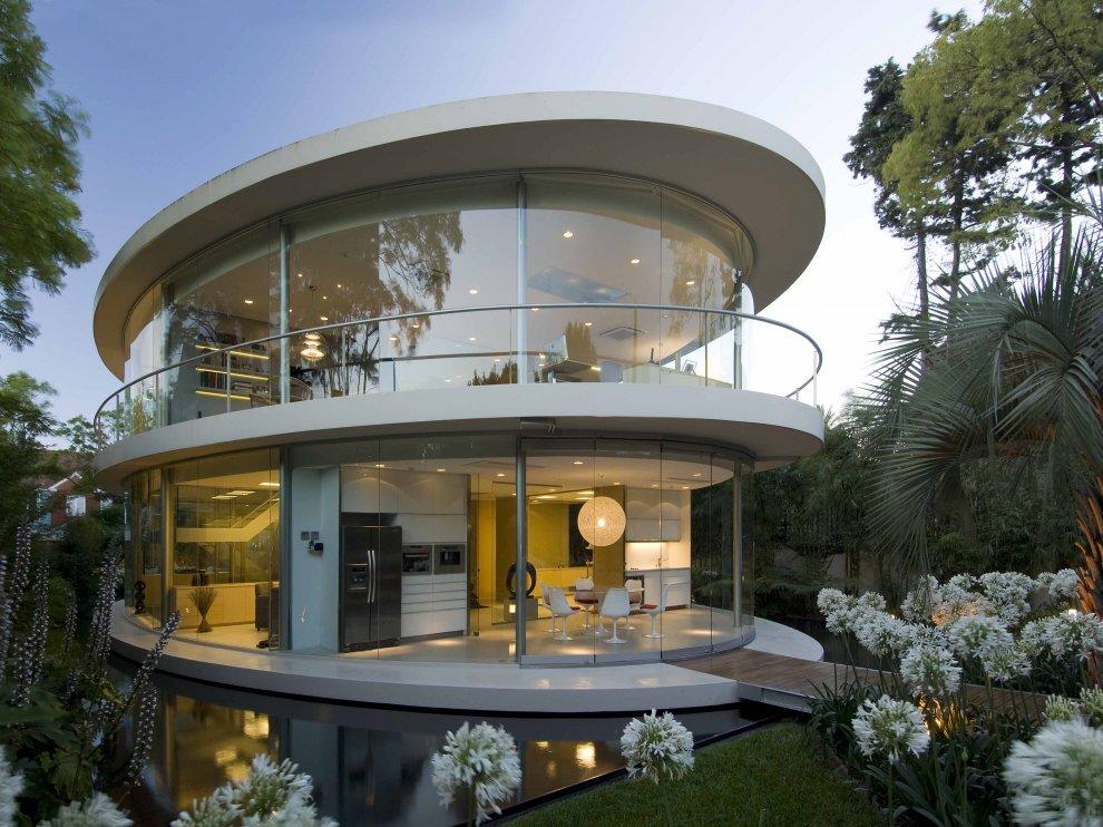 Fachada circular - Circular house plans shapes from nature ...