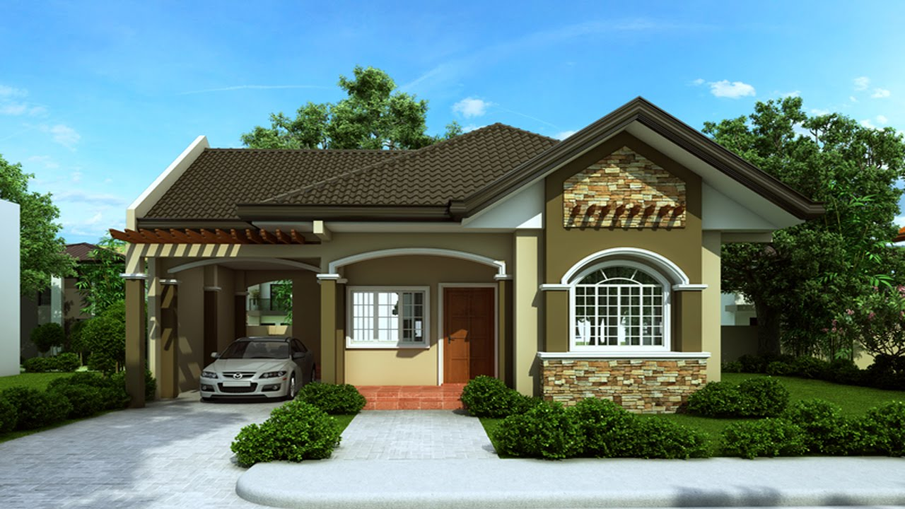 fachadas con techos a 4 aguas