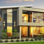 Modelo de casa de 2 plantas
