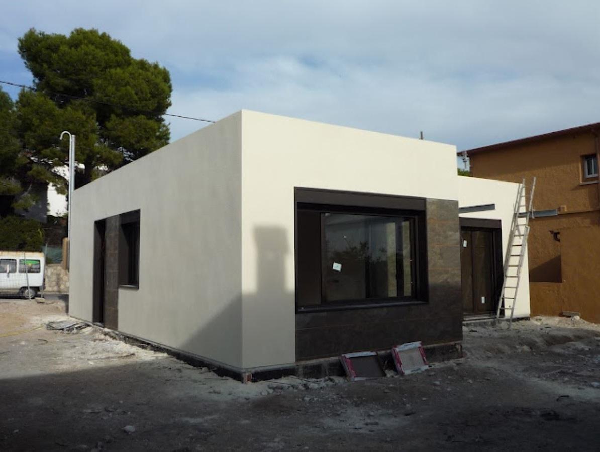 Fachada De Casa Mediterranea
