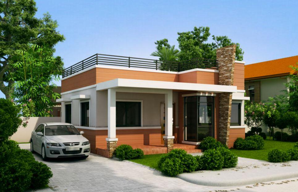 Casas peque as con terraza enfrente for Casas para terrazas