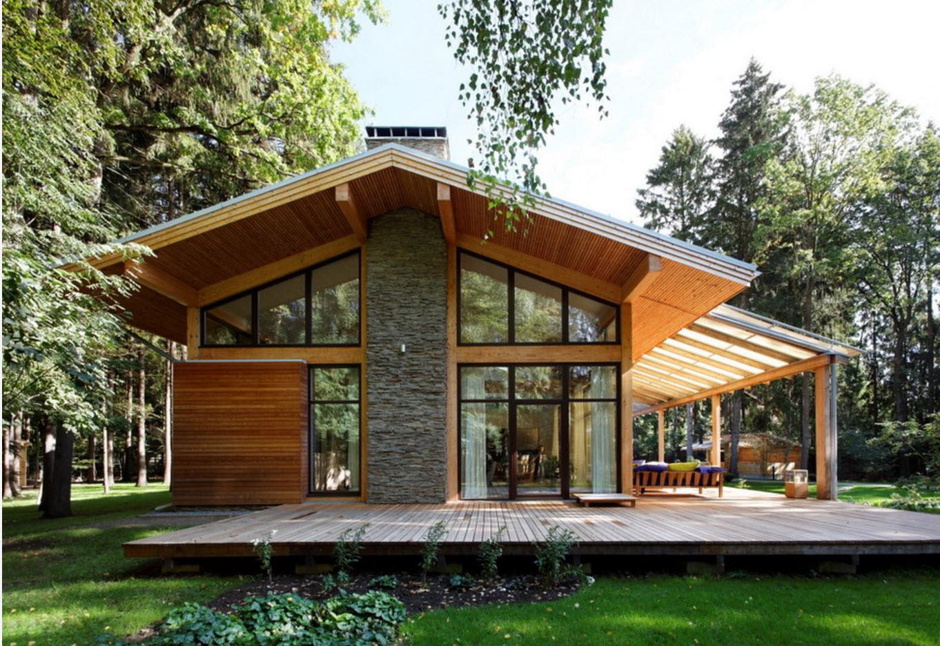 Fachadas de madera y piedra - Casas de piedra y madera ...