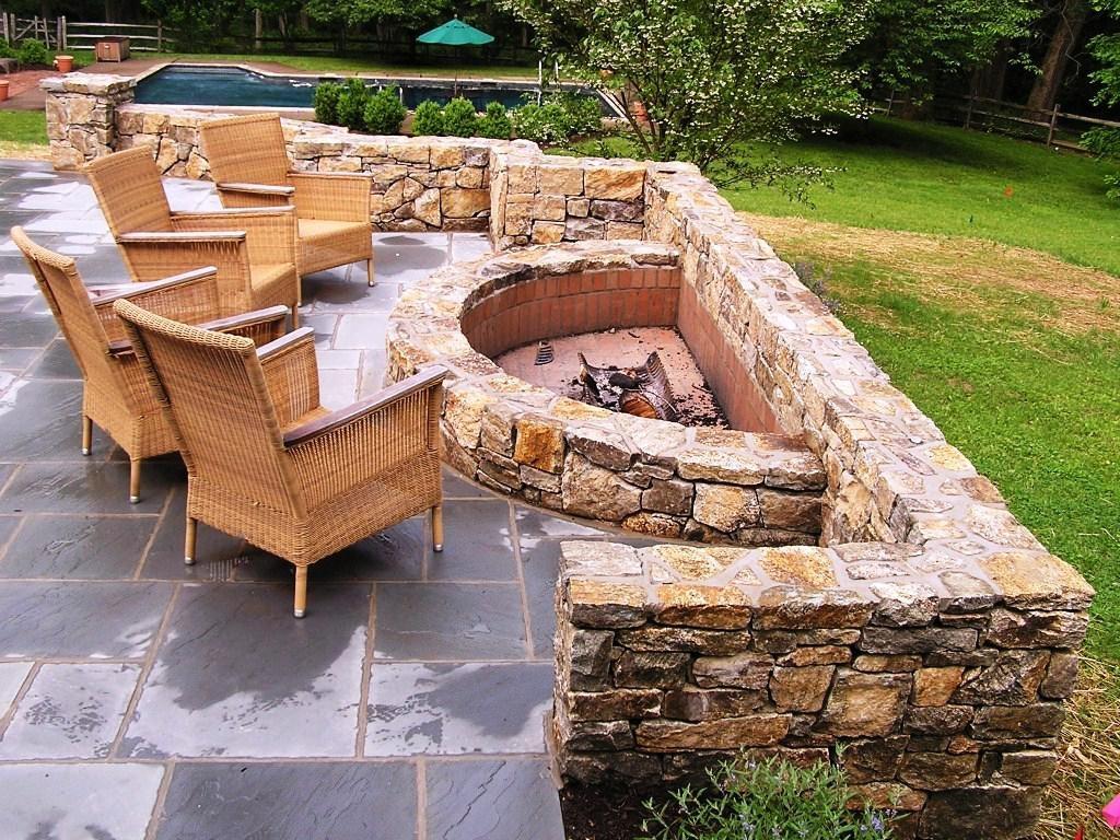 Patios con fogones for Modelos de patios