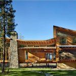Fachadas de madera y piedra – 14 Hermosos diseños modernos
