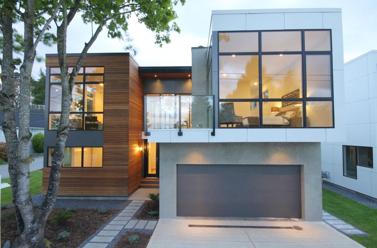 Revestimientos de madera para paredes exteriores for Modelos de paredes exteriores