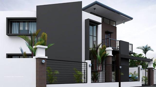 Fachadas con rejas for Diseno de jardines frentes de casas