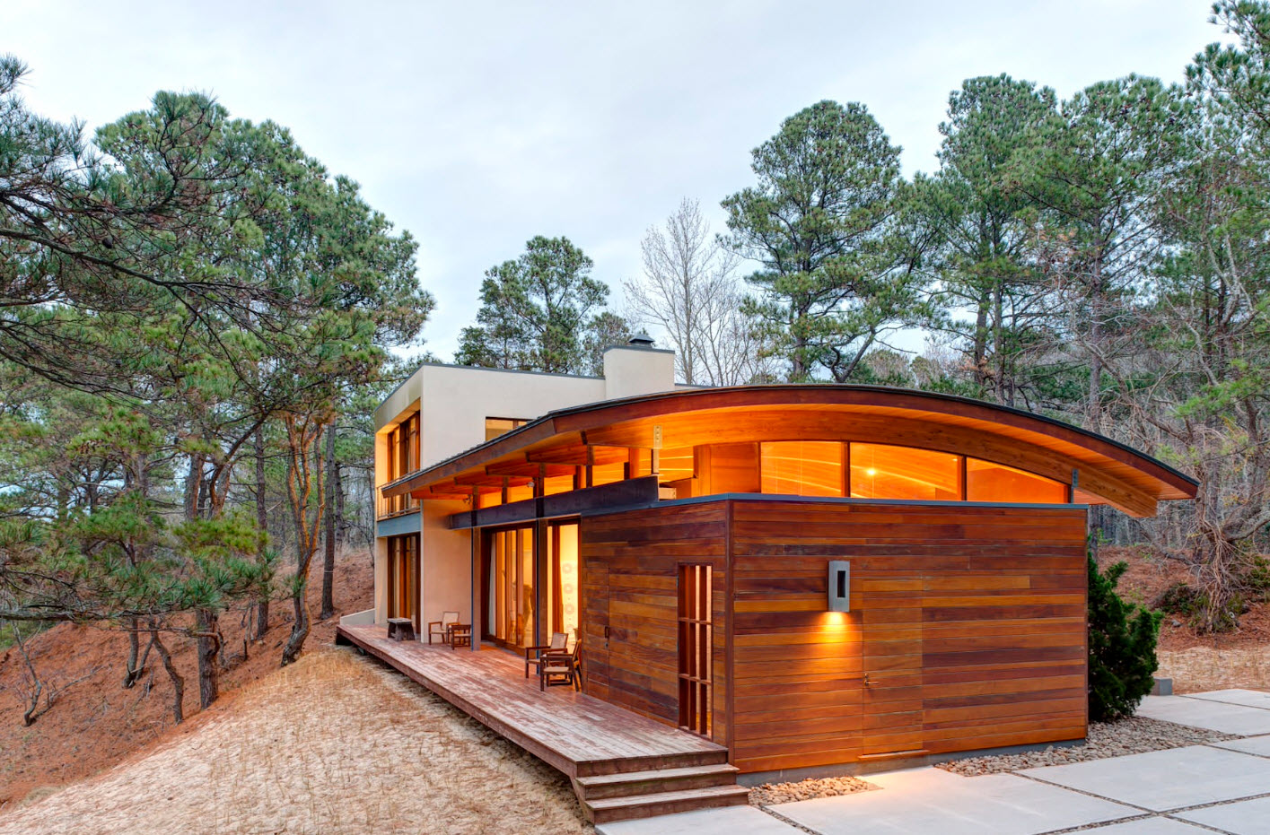 Revestimientos de madera para paredes exteriores - Maderas de exterior ...