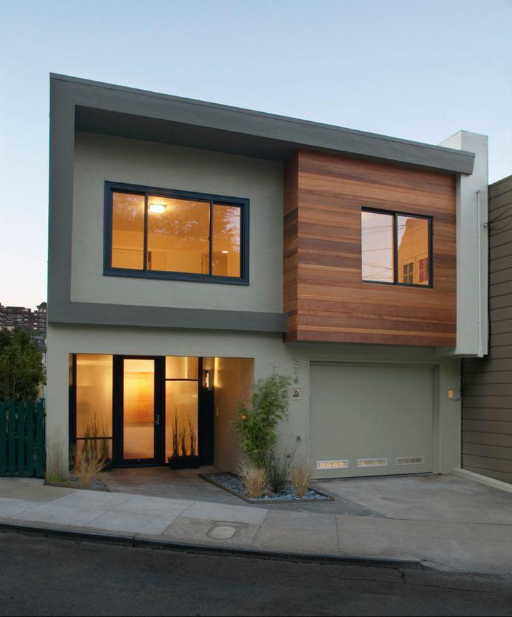 Fachadas con madera for Fachadas de casas de madera