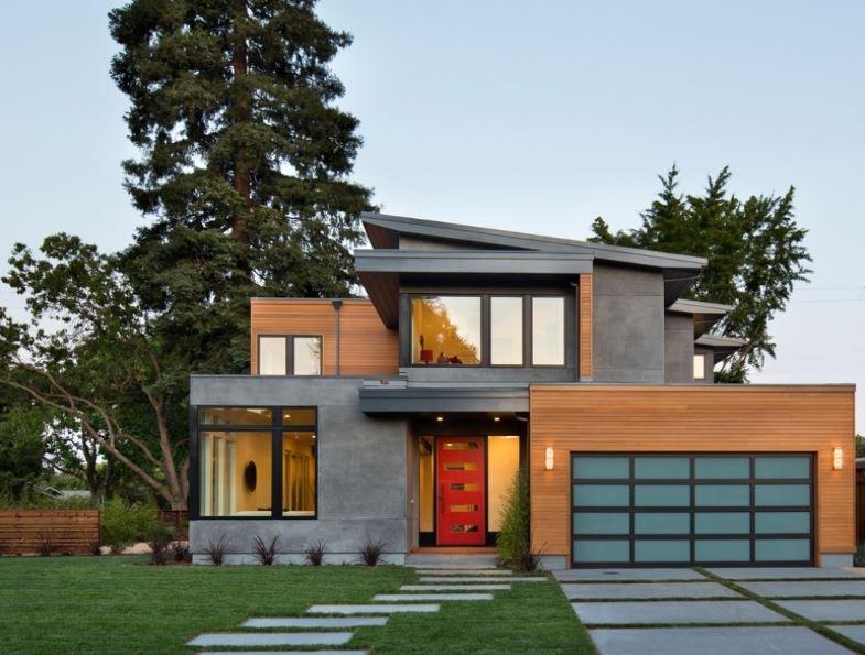 Aberturas para fachadas - Puertas para casas modernas ...