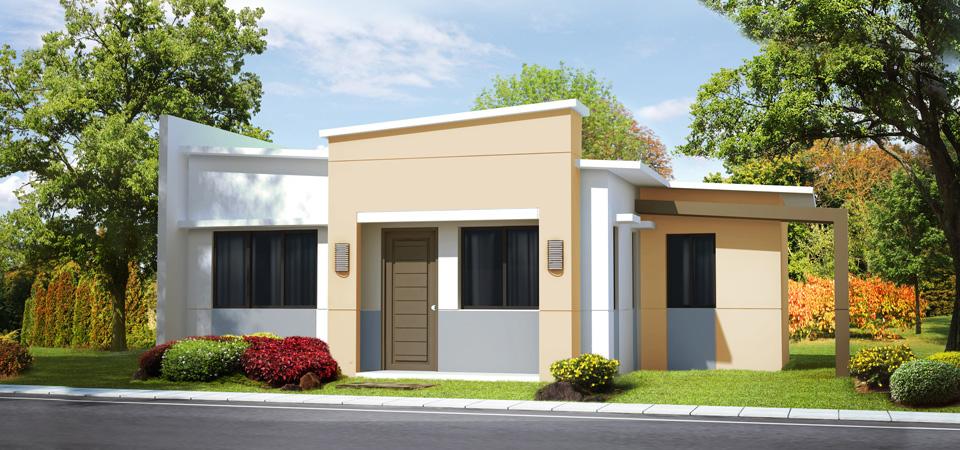 Modelos de ventanas para frentes de casas for Fachadas modernas para casas pequenas de una planta