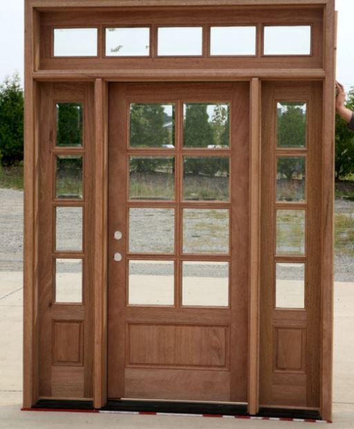 Puertas modernas for Disenos de puertas en madera y vidrio
