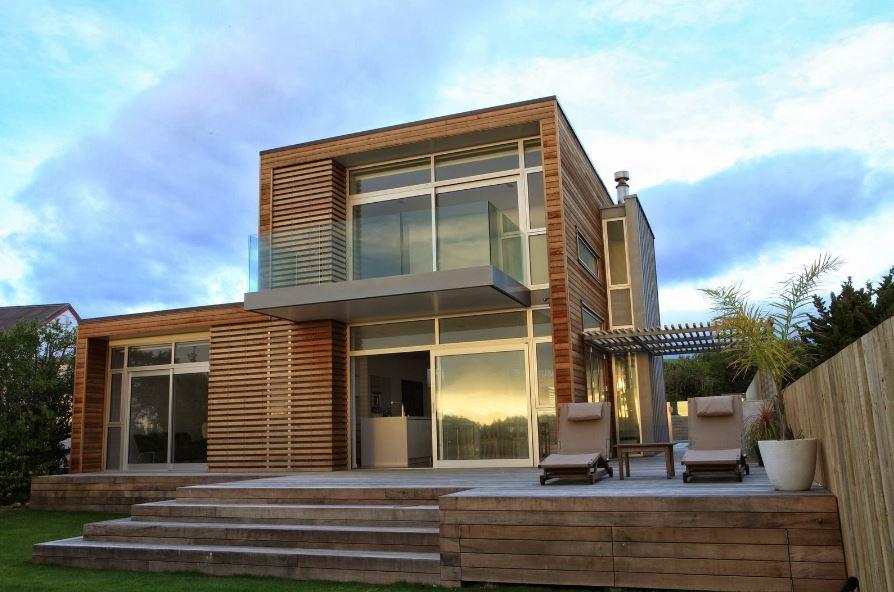 Barandillas de cristal for Fachadas para terrazas de casas