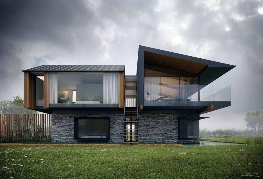 Fachadas modernas - Rejas de casas modernas ...