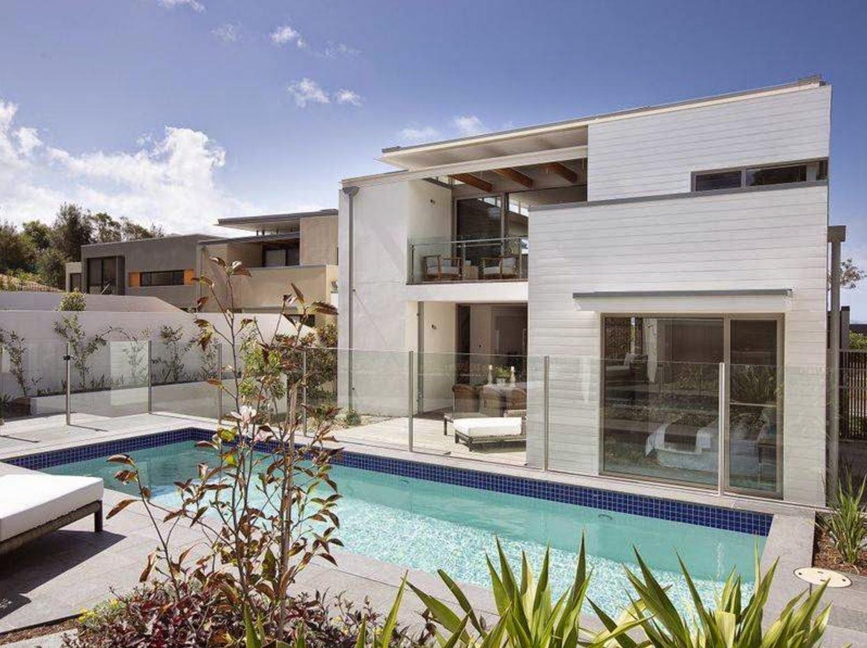 Plantas de casas bonitas com piscina proyectos de casas for Plantas de casas modernas con piscina