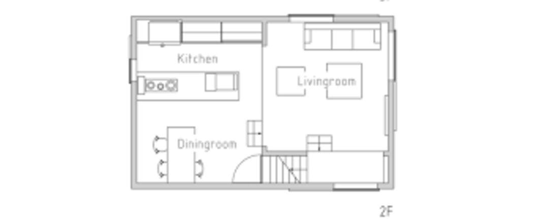 Planos casas estrechas y alargadas elegant gallery of pin for Casas estrechas y alargadas