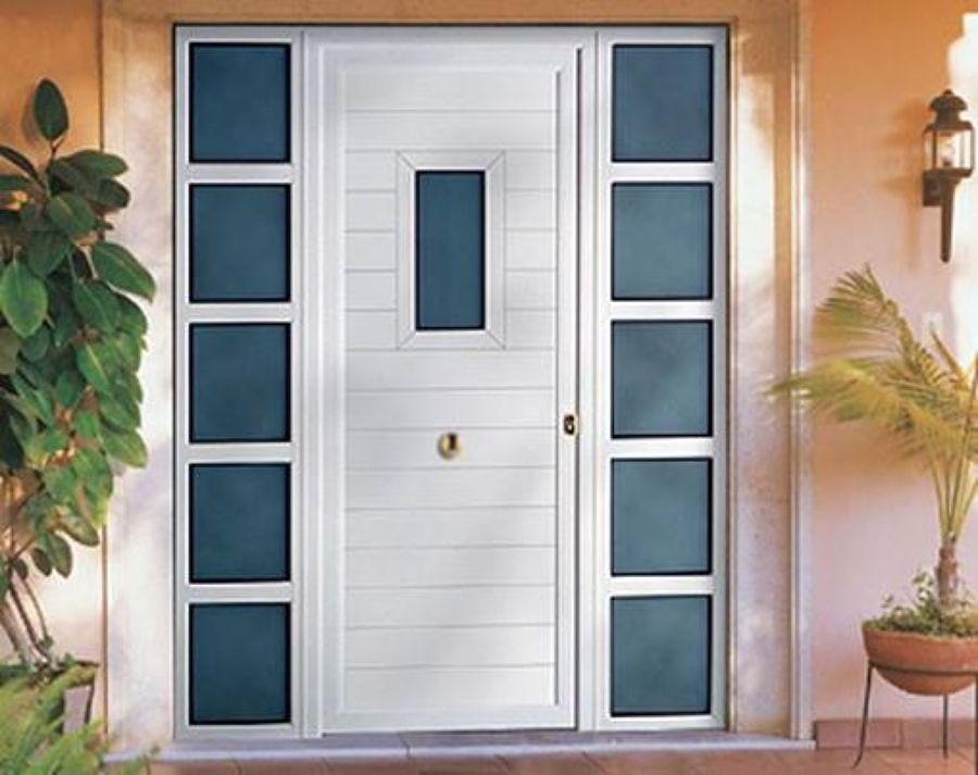 Puertas de aluminio para fachadas for Puertas aluminio exterior precios