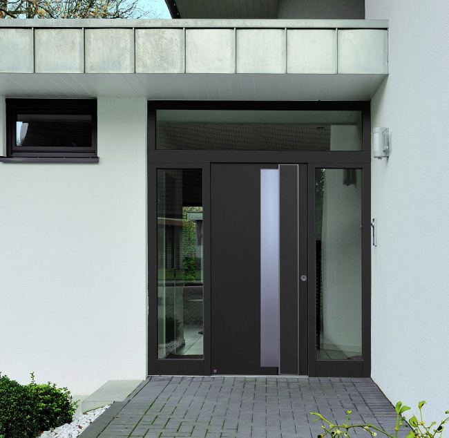 Disenos Puertas Frente Casa 25: Puertas De Aluminio Para Fachadas