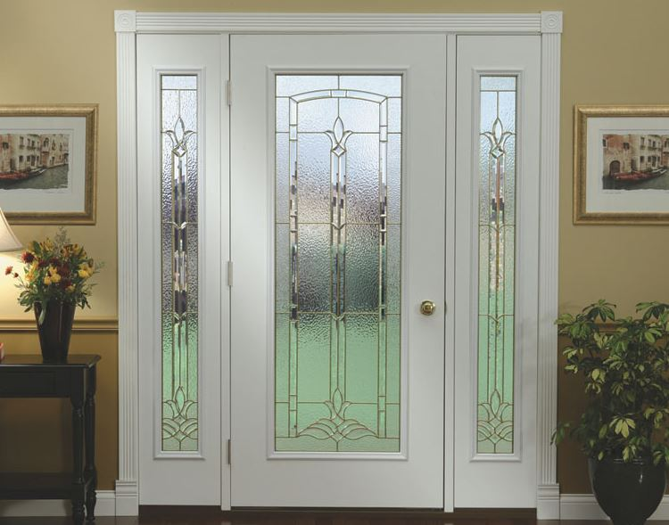 Fotos puertas modernas para casas for Puertas de entrada con vidrio