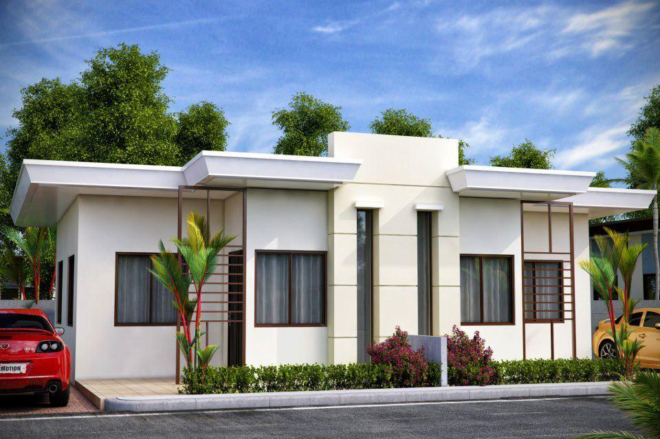 Fachada con ventanas for Modelos de fachadas modernas
