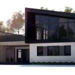 Casas de vidrio y madera
