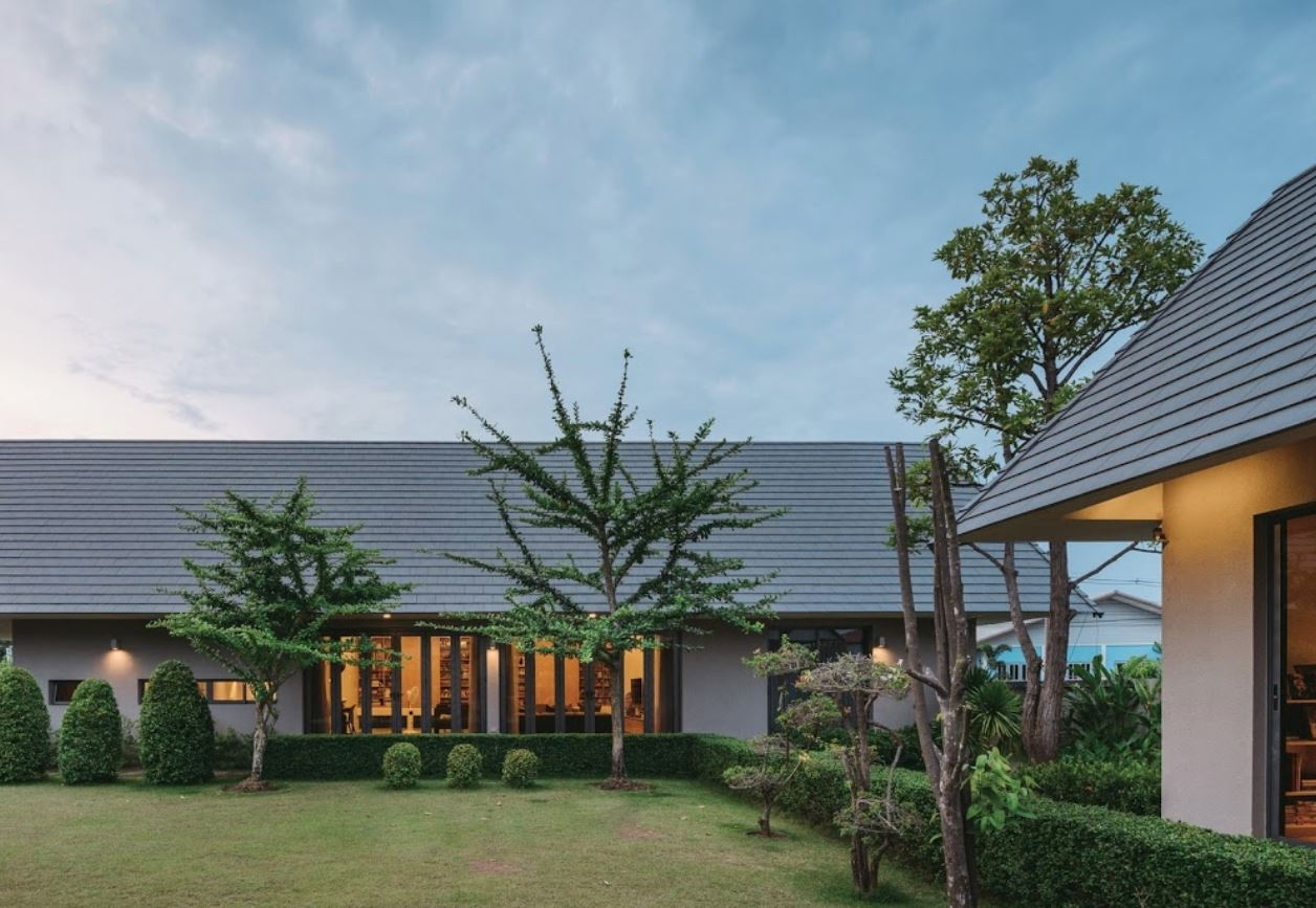 Fachadas de techos a 2 aguas for Diseno de casa sencilla