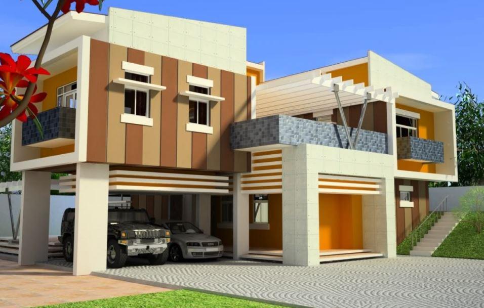Pinturas para fachadas exteriores fabulous fachadas - Pintura para fachadas exteriores ...