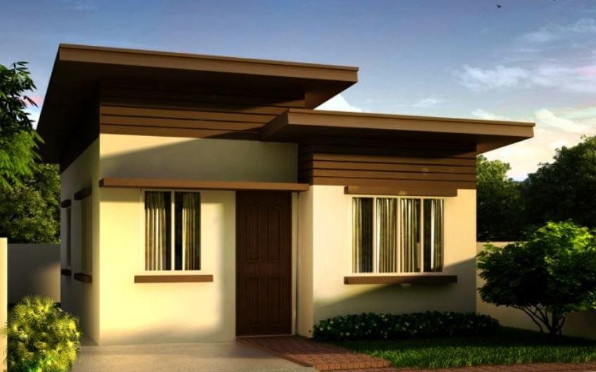 fachadas de casas con techo inclinado