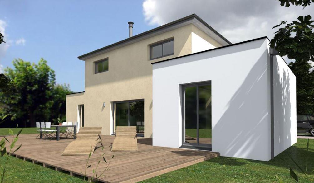 Colores para fachadas de casas for Fachada minimalista una planta