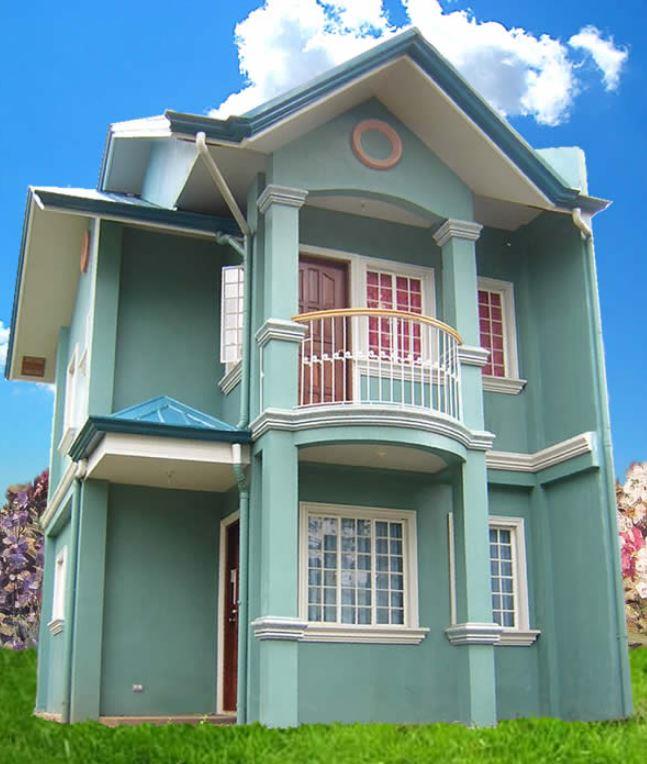 Pintura para fachadas de casas traditional front door for Fachadas exteriores de casas modernas
