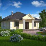 10 Fachadas de casas color crema