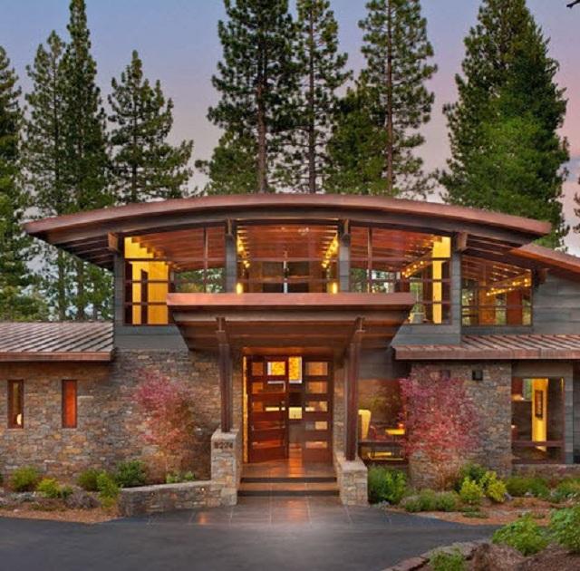 Casas ideales para construir en el campo for Los mejores techos de casas