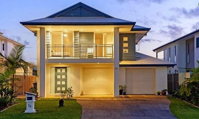 Fachada de casa clasica for Casas clasicas modernas
