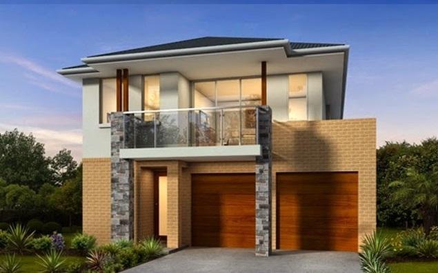 Barandas de vidrio para balcones for Fachadas de casas minimalistas con balcon