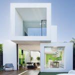 Fachadas de casas de 2 plantas muy modernas