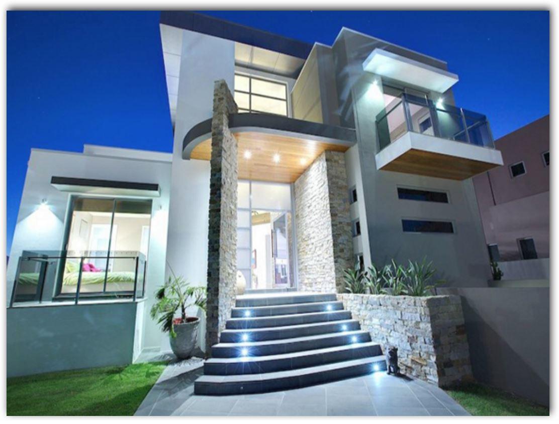 Fachadas modernas for Fachadas casas de 2 plantas