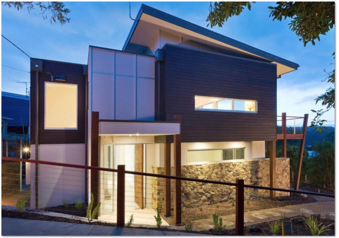 Fachadas de casas de dos pisos for Lo ultimo en pisos para casas