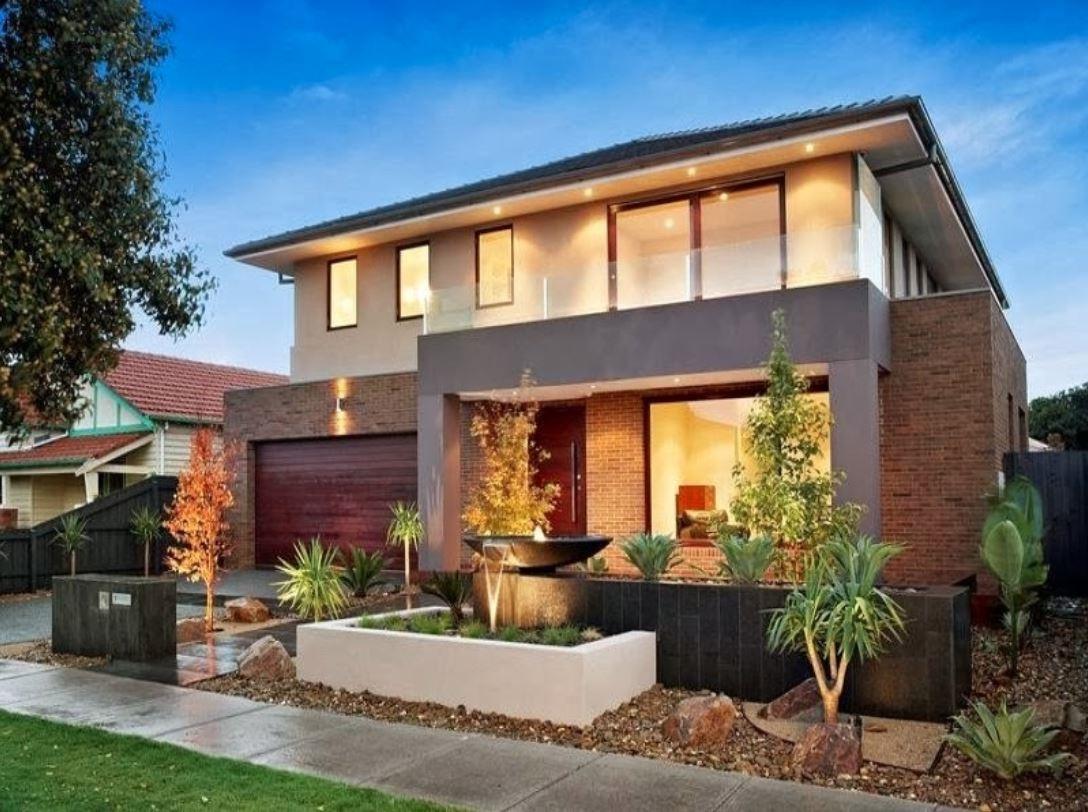 Fachada de modelos de casas modernas - Fachadas de casas rusticas modernas ...