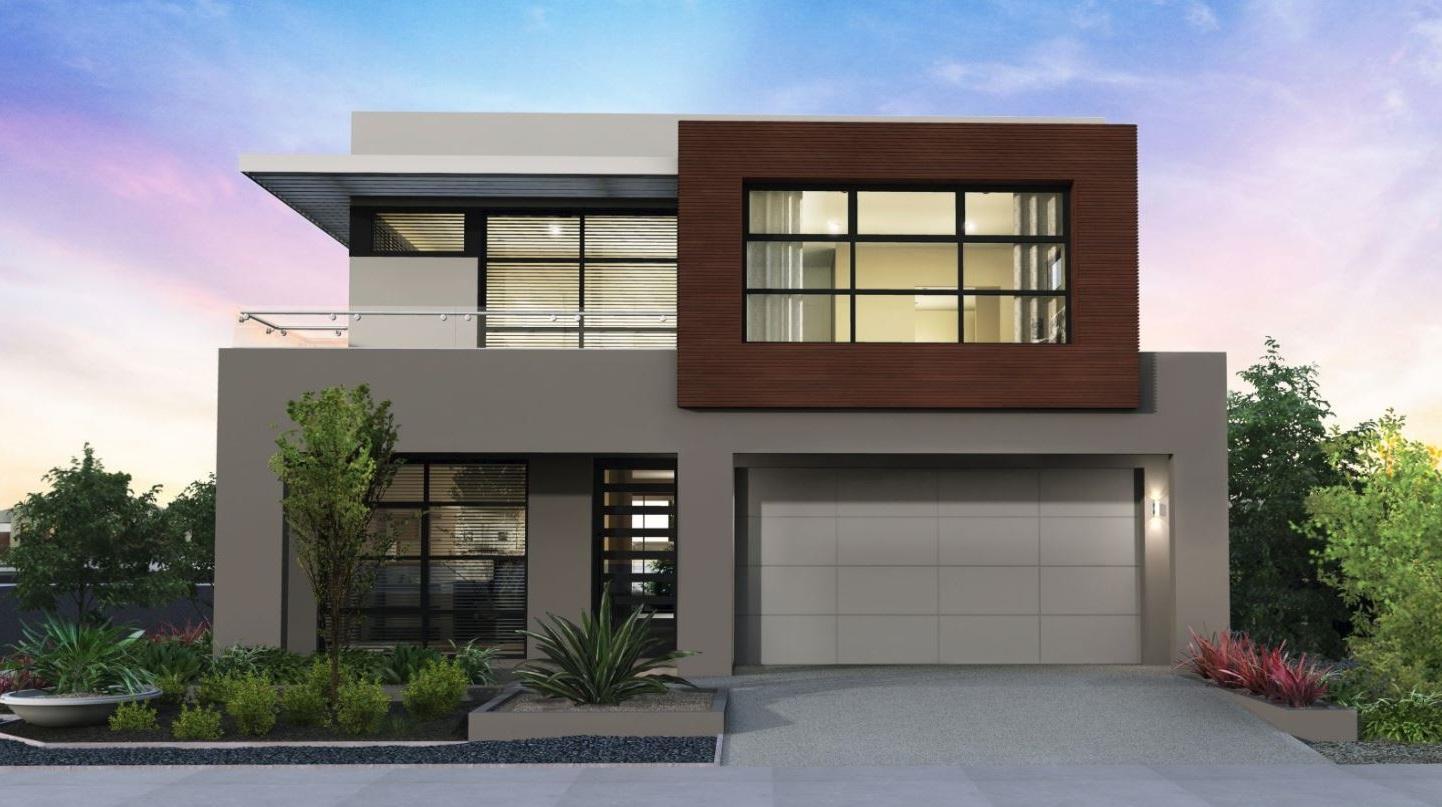 Colores para pintar una fachada for Colores para casas minimalistas