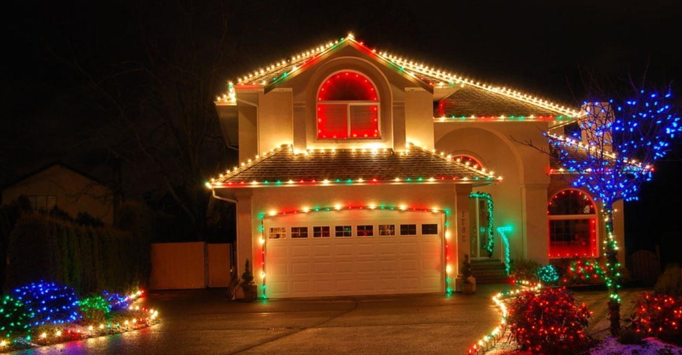Frente de casa navidad - Adornos de navidad para casa ...