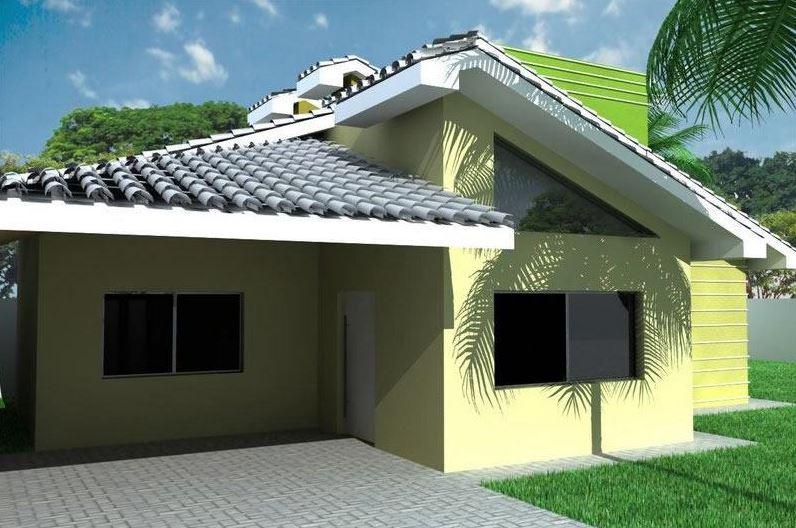 10 fachadas de casas sencillas de un piso for Fachadas de casas de un solo piso