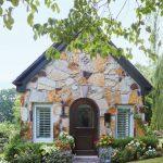 Hermosa cabaña de piedra